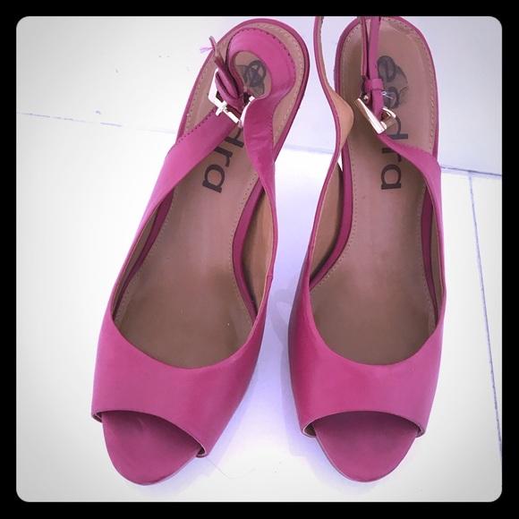 esdra Shoes | Leather Fuchsia Color